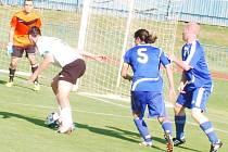 V rámci 27. kola divize se hrálo také západočeské derby mezi FK Tachov a FC Rokycany.