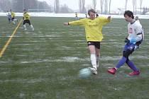 Družstvo FK Tachov se připravuje na jarní boje v divizní soutěži starších žáků