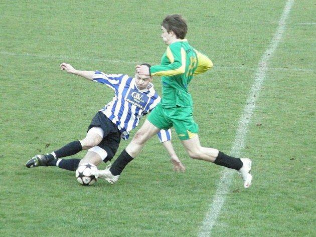 Stříbrští fotbalisté prohráli se S. Město Touškov na vlastním hřišti 2:5