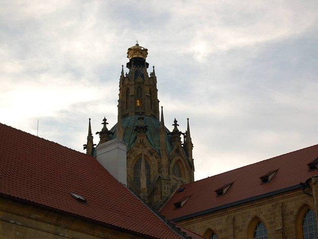 Katedrála v Kladrubech.