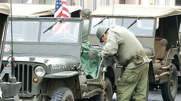 Military konvoj se loni zastavil také na Tachovsku.