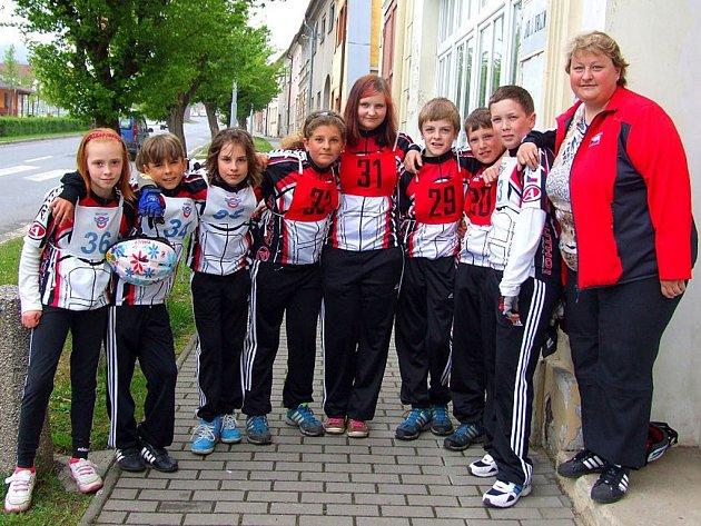 Všichni účastníci ze základních škol bojovali o postup do krajského kola
