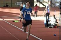 Jakub Davidík při svém rekordním běhu.