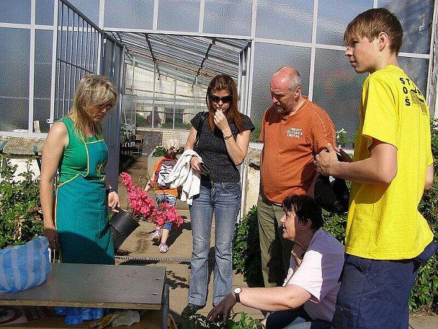 Dny školní zahrady se konaly ve stříbrském areálu Střední odborné školy v Dukelské ulici ve Stříbře.