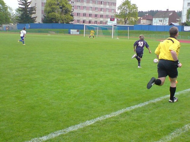 FK Tachov - FC Písek 3:2.