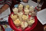Ze soutěže o nejlepší bramborový salát.