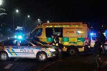 Nákladní vůz srazil ženu v Plané na přechodu