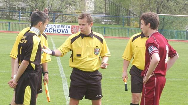 Fotbal–divize starších žáků: FK Tachov – FC Písek 1:2