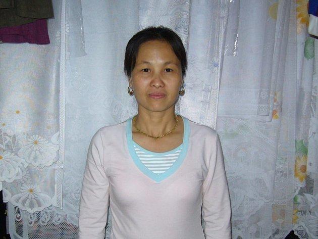 Paní Tran Thi Minh Tam žije ve Stříbře už jedenáct let. Jednou by se chtěla vrátit do Vietnamu.
