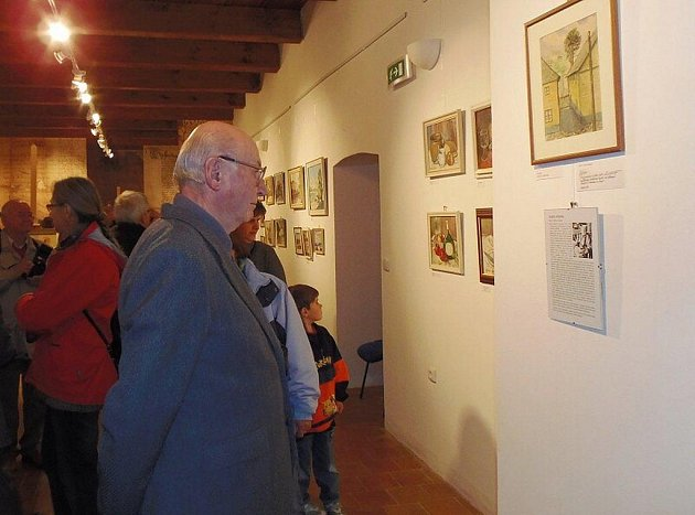Výstavu obrazů Karla Sýkoru je možné navštívit ve stříbrském muzeu do 24. listopadu.