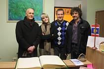 VEČER ŠANSONŮ a francouzského šarmu zažili návštěvníci vánočního koncertu, který se odehrál v klášterním kostele v Kladrubech.