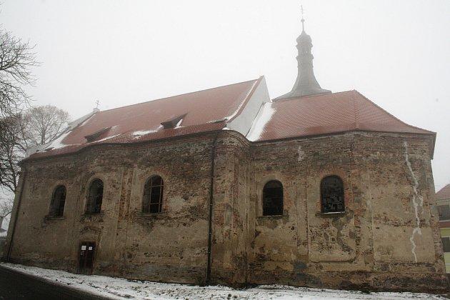 Kostel sv. Prokopa v Lestkově.