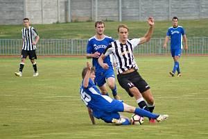 FK Tachov (na archivním snímku hráči v modrých dresech) porazil v sobotu Olympii Březovou 6:5.