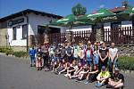 Školáci Základní školy Hornické na výletě v přírodě v okolí Železné