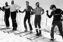 Účastníci kurzu pro pedagogy – instruktory lyžařských výcviků z tachovského okresu.