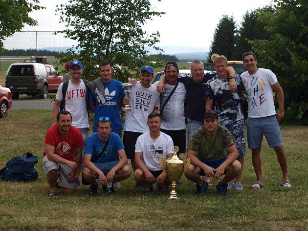 Vítězný tým Letního turnaje 2019Sokol Bor.