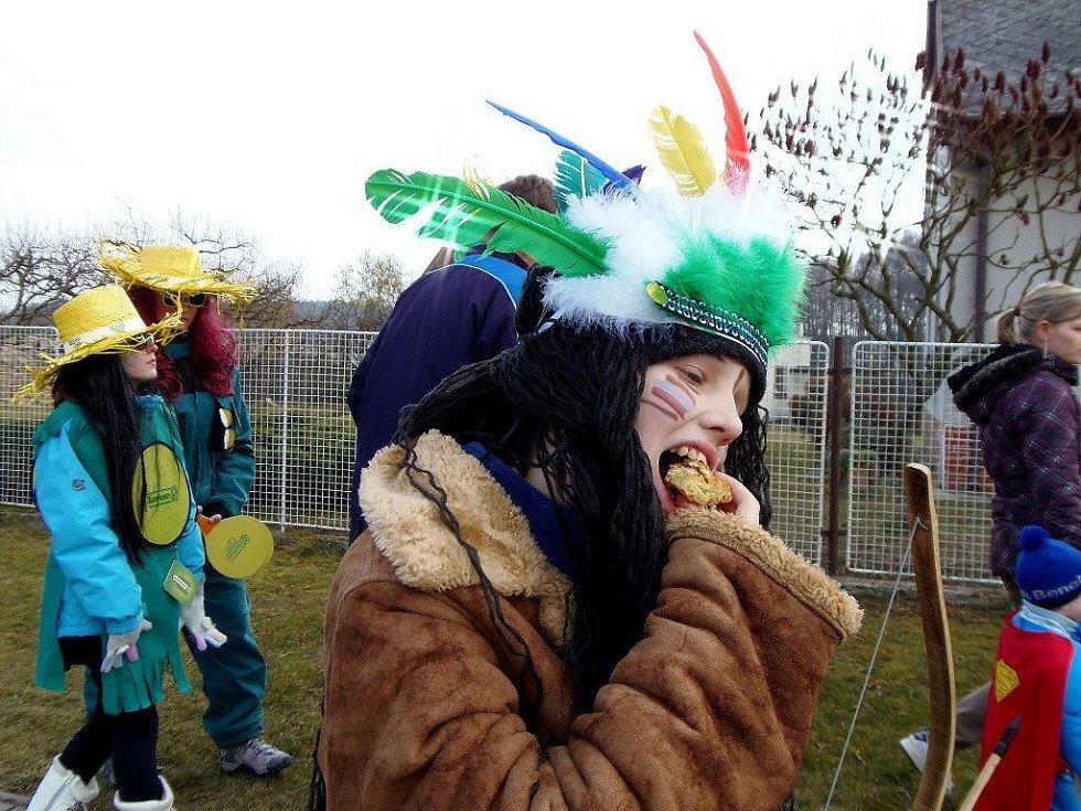 V pořadí už 229. masopust se konal 1. března v Sulislavi.