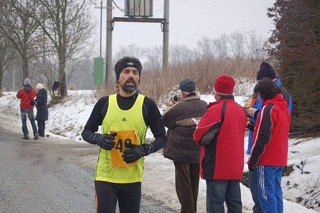Ve Stříbře se běžel 27. ročník Vánoční míle