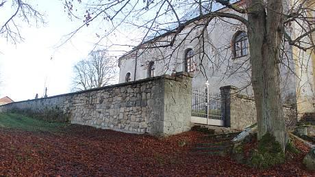 Hřbitovy v Rozvadově a Svaté Kateřině.
