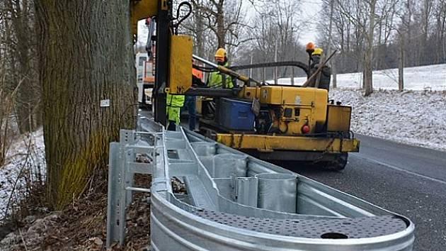 Ochrana pro řidiče i pro stromy.