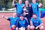 Nohejbalový pohár Tachovska 2019: celkový vítěz Slavoj Chodová Planá A.