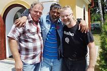 O opravu kapličky ve Svinné se zasloužili Radek Špatenka, Ladislav Svoboda a Martin Feistinger.