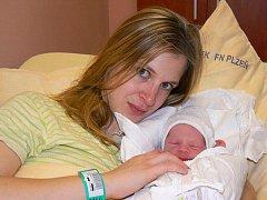 K rokapůlroční Mariance přibyl Kateřině a Petrovi Kinkalovým ze Svinné u Stříbra 22. ledna Matyáš (3,90 kg, 45 cm). Chlapeček se narodil v pět hodin ráno ve FN v Plzni.