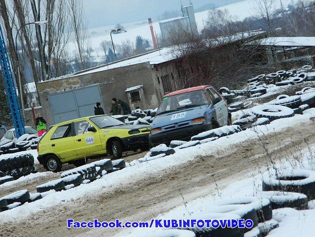 Ze závodů Zimního poháru v Rožmitálu pod Třemšínem.