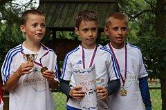 Mladí stříbrští nohejbalisté.