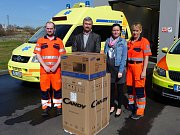 Stanice Zdravotnické záchranné služby dostala dar od firmy RSF Elektronik.