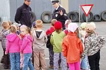 Policisté školili předškoláky