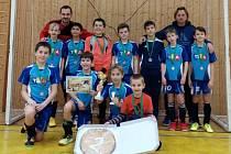 Naděje Tachova na turnaji starších přípravek v Rokycanech zazářily ziskem stříbrných medailí.