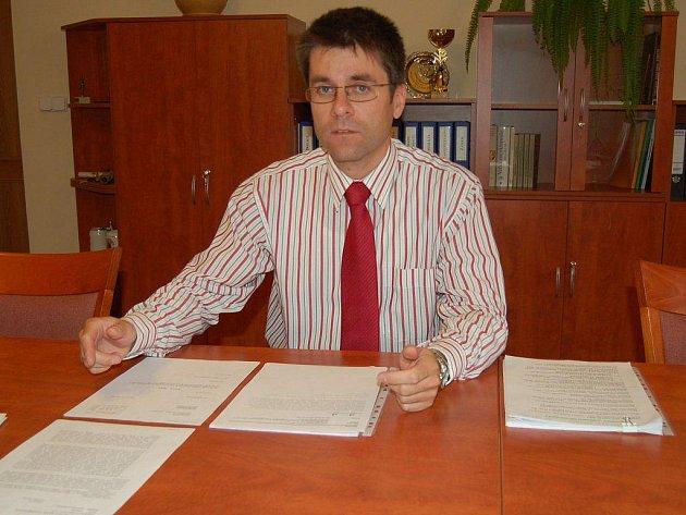 Starosta Boru Petr Myslivec.