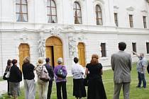 V Kladrubech se konalo slavnostní ukončení rekonstrukce konventu a Rajské zahrady zdejšího kláštera.
