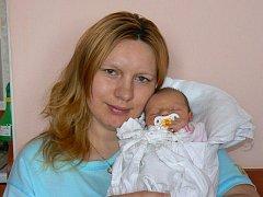 Terezka (2,84 kg, 49 cm), která přišla na svět 26. ledna ve 14.47 hod. ve FN v Plzni, je prvorozenou dcerou Kateřiny a Jana Habrdlových z Tachova.