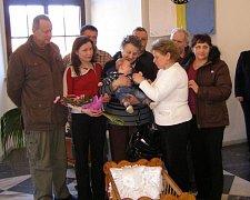 Ve Stříbře na radnici se konalo první letošní vítání občánků.