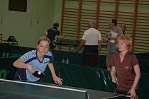 V borské sokolovně se hrál mezinárodní stolní tenis.