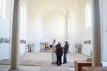 Po čtyřech letech měli návštěvníci možnost vidět zrekonstruované prostory kostela v Boněnově.