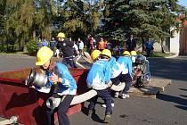 Poslední soutěž letošní sezóny v požárním útoku na našem okrese uspořádali dobrovolní hasiči z Chodové Plané v areálu rodinného pivovaru Chodovar.