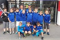 Výběr FK Tachov U11 na turnaji v rakouském Bregenzu.