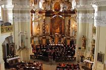 Zahajovací koncert Hudebního léta Borska 2011.