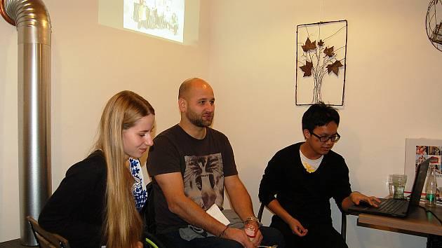 Honza Krauskopf se studenty