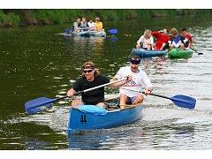 V Plzni odstartoval vodácký maratón.