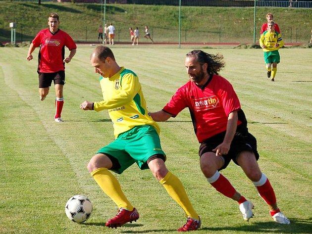 Fotbalisté Baníku porazili Nepomuk 4:0 .