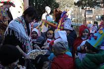 Mateřská škola Tyršova pořádala masopustní průvod