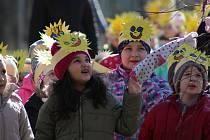 Tradiční vynášení zimy se konalo v mateřince Prokopa Velikého v Tachově.