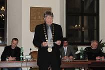 První nové zastupitelstvo se konalo na stříbrské radnici.