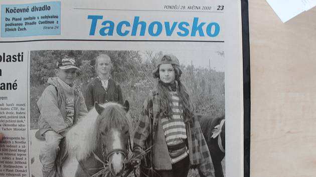 Tachovský deník z 29. května 2000