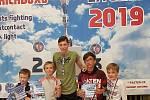 Úspěšná výprava mladých kickboxerů klubu E.H. security kick-box gym.