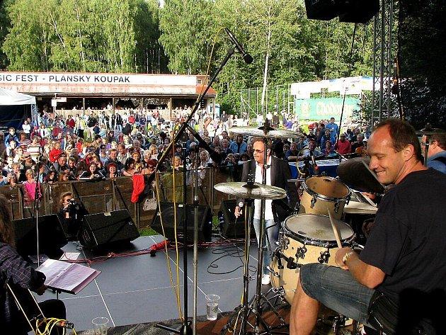 Open air hudební festival Plánský Koupák 2009.